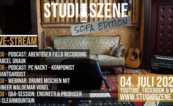 Programm Studioszene Sofa Edition