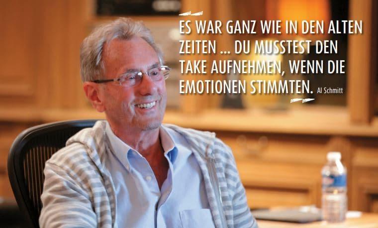 Zitat von Al Schmitt mit Portrait
